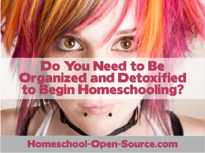 Homeschool Detox Necessary