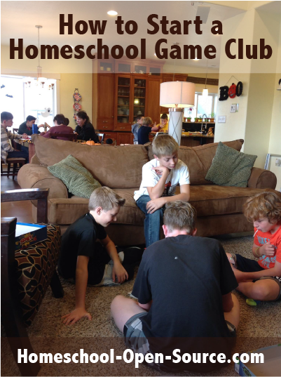Start a Homeschool Game Club