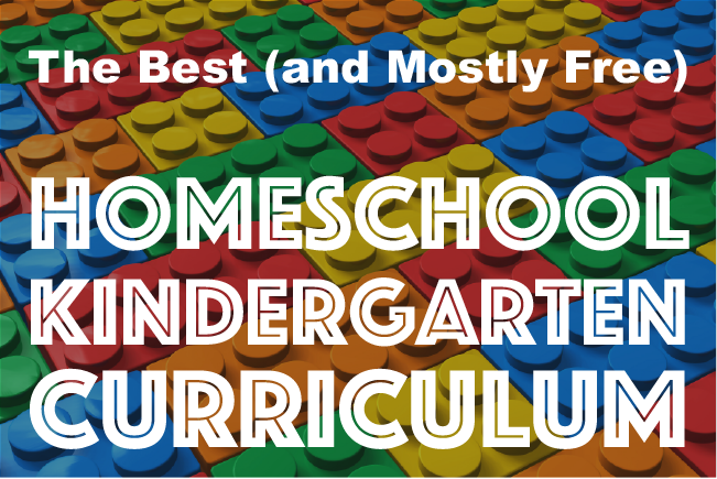 The Best (and Mostly Free) Homeschool Kindergarten ...